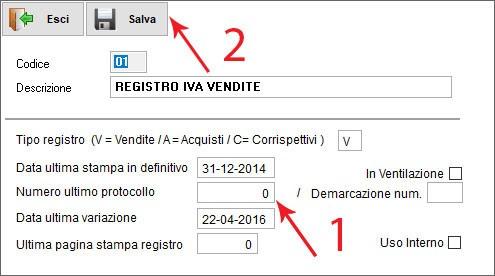 Il registro IVA vendite in Next2020